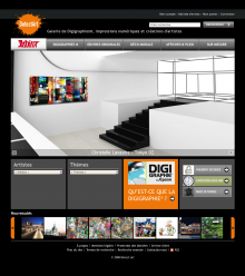 Site internet de Detect Art