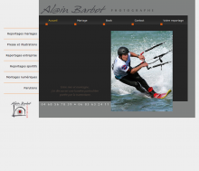 Site internet du photographe Alain Barbot