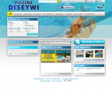 Site internet Piscine Diseywi