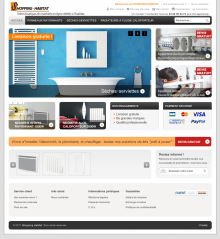 Site internet E-commerce Shopping-Habitat