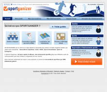 Site internet Sportganizer
